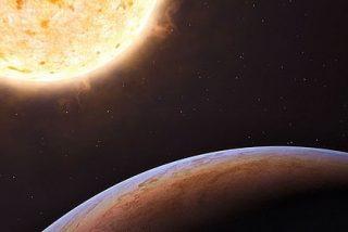 Un extraño planeta que vino de otra galaxia