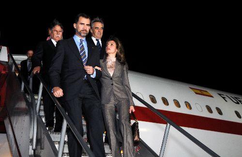 Alan García recibe hoy a los Príncipes de Asturias en Palacio de Gobierno