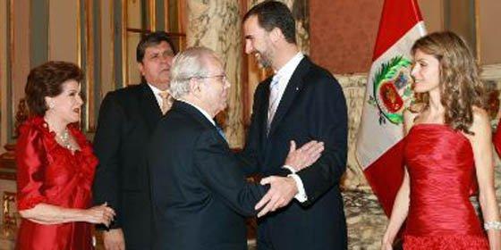 Príncipes de Asturias participarán hoy en encuentro empresarial España-Perú