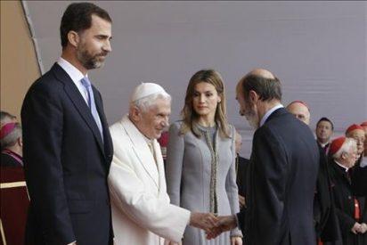 """Rubalcaba y el Papa confirman las """"buenas relaciones"""" España-Santa Sede"""