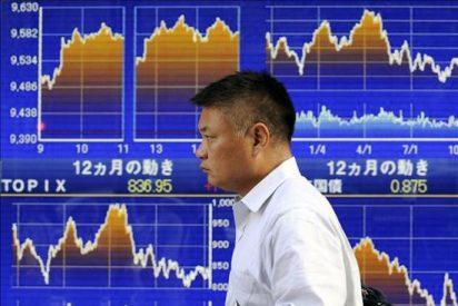 El índice Nikkei sube 79,37 puntos, el 0,78 por ciento, hasta 10.247,89 puntos