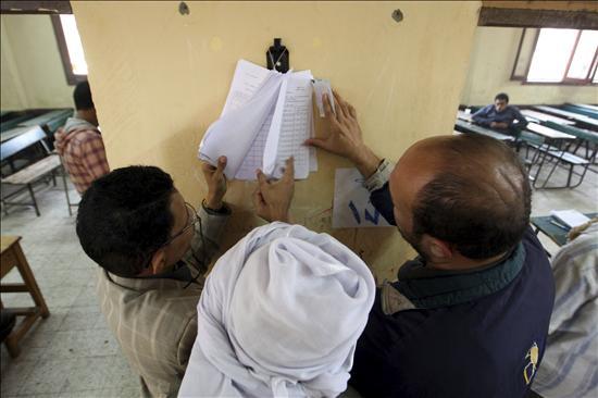 El partido de Mubarak gana las elecciones egipcias con 420 escaños