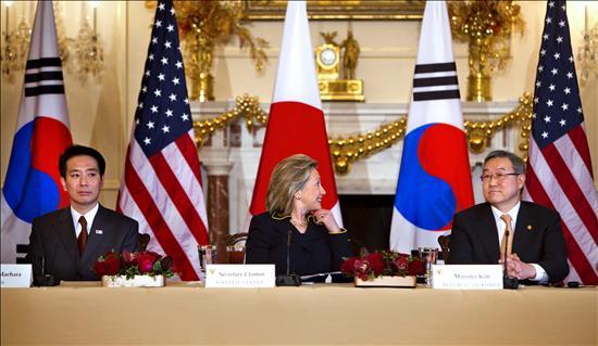 EE.UU., Corea del Sur y Japón piden a China ejercer influencia sobre Pyongyang