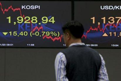 El índice Kospi sube 1,99 puntos, el 0,10 por ciento, hasta 1.955,63 puntos