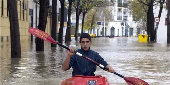 Prorrogan la alerta naranja y el plan de emergencias en Andalucía Occidental