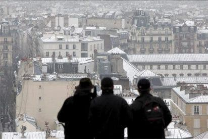 Alerta por nieve en el norte de Francia y vuelos suprimidos en París