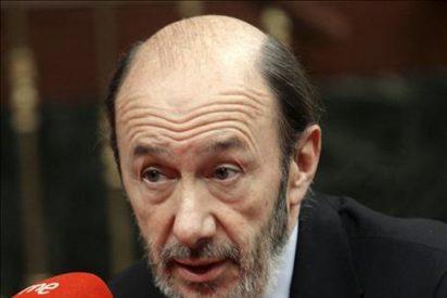 """Rubalcaba asegura que """"será la Justicia la que diga si hay que pagar y quién paga"""""""