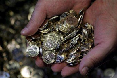 El euro sube a mediodía hasta 1,3235 dólares