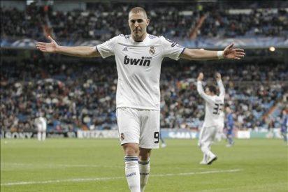 4-0. Benzema recupera la autoestima frente al Auxerre
