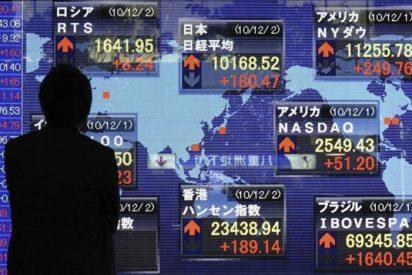 El índice Nikkei sube 45,54 puntos, 0,45 por ciento, hasta 10.277,87 puntos
