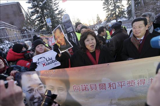 """China critica a EEUU por """"entrometerse"""" en el caso del Nobel Liu, según WikiLeaks"""