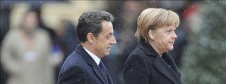Merkel y Sarkozy reiteran su rechazo a los eurobonos