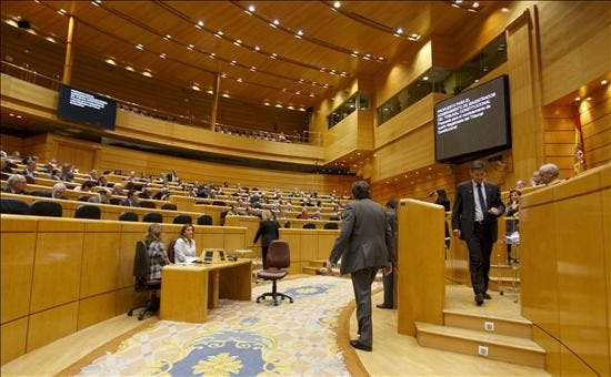 El pleno del Senado veta los presupuestos de 2011 y los devuelve al Congreso