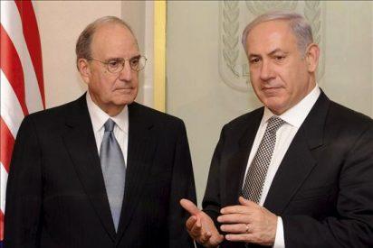 Mitchell y Netanyahu se reúnen en Jerusalén por primera vez en tres meses