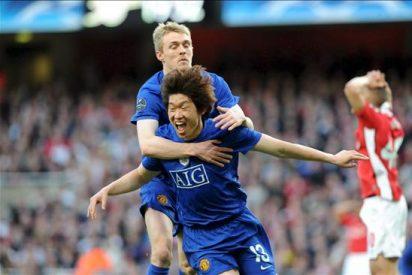 1-0. El Manchester desbanca al Arsenal del liderato con un gol de Park