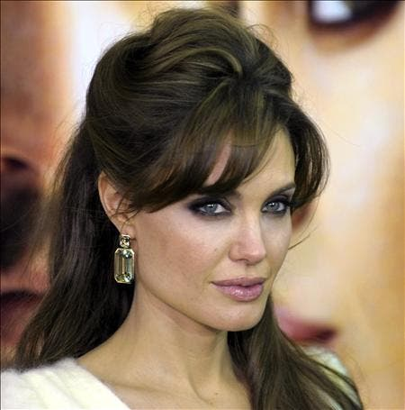 Angelina Jolie se queda atrapada en Berlín por culpa de su avión privado