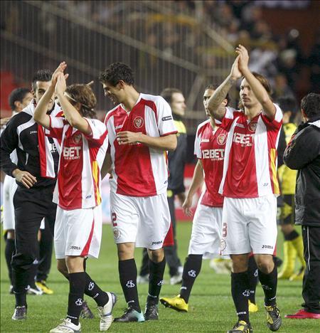 2-2. El Sevilla se mete en dieciseisavos de Liga Europa tras un choque vibrante
