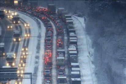 El temporal de frío y nieve origina un nuevo caos en el transporte en Europa