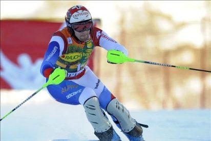 El suizo Zurbriggen sorprendió en el descenso de Val Gardena
