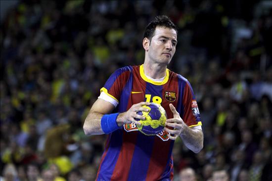 26-29. El Barcelona sufre con el Ademar pero se mete en la final de la Copa Asobal