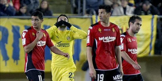 3-1. Un Villarreal a medio gas logra una cómoda victoria ante el Mallorca