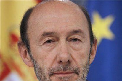 Rubalcaba visita mañana el País Vasco para analizar la lucha contra ETA