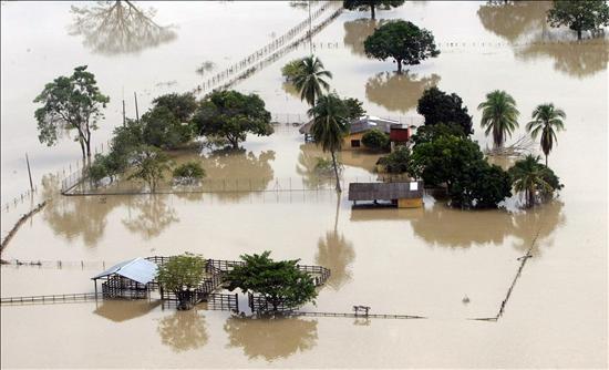 Llega a 300 la cifra de muertos por precipitaciones en Colombia en 2010