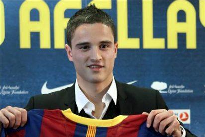 El Barcelona vuelve mañana al trabajo con Afellay y sin Messi