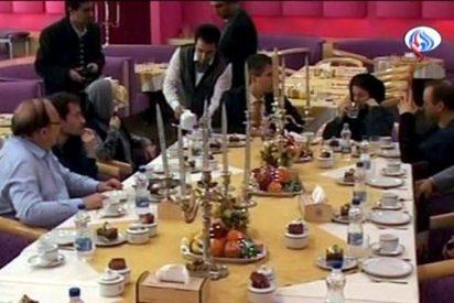 Los familiares visitaron a los periodistas alemanes, según un portavoz iraní
