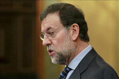 """Rajoy se ve ganador y """"da igual"""" si es ante Zapatero, Rubalcaba o """"la Chacón"""""""