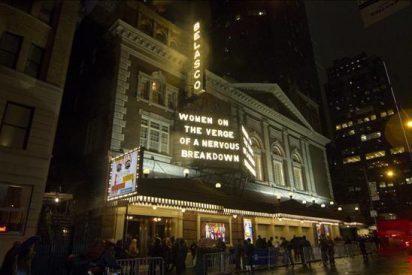 """""""Mujeres al borde de un ataque de nervios"""" adelanta su despedida de Broadway"""