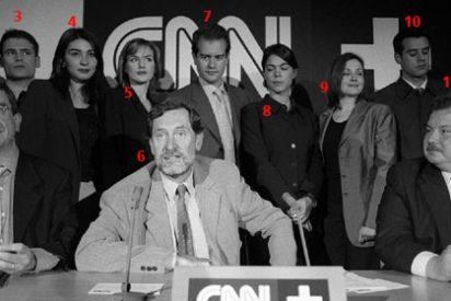Las caras de CNN+ once años después: del blanco y negro al fundido a negro