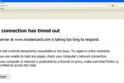 Una red bloquea la web de Mastercard por impedir los pagos a Wikileaks