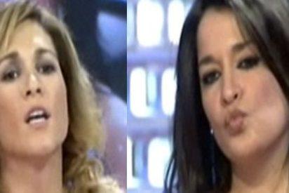 Aída Nízar agrede en directo a la periodista Cristina Fernández en 'Enemigos Íntimos'