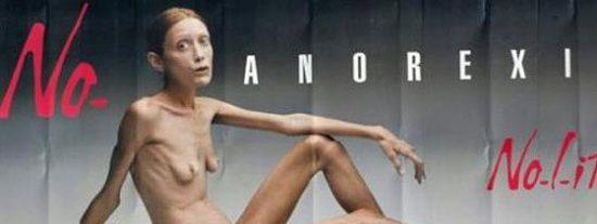 Muere Isabelle Caro, la modelo anoréxica de Toscani