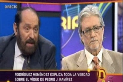 """Rodríguez Menéndez: """"En la trama del vídeo sexual de Pedrojota participó algún miembro del actual Gobierno"""""""
