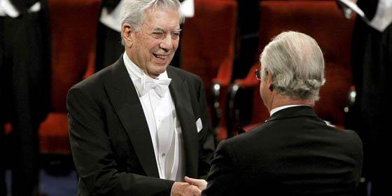 Mario Vargas Llosa recibe el Nobel de Literatura 2010