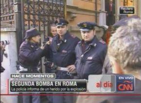 Alarma en Roma por paquetes sospechosos en embajadas de Grecia y Venezuela