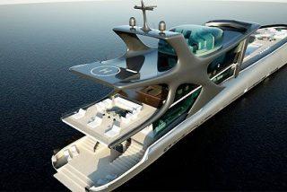 El superyate más lujoso del mundo, emperador de los siete mares, tiene nombre de ballena