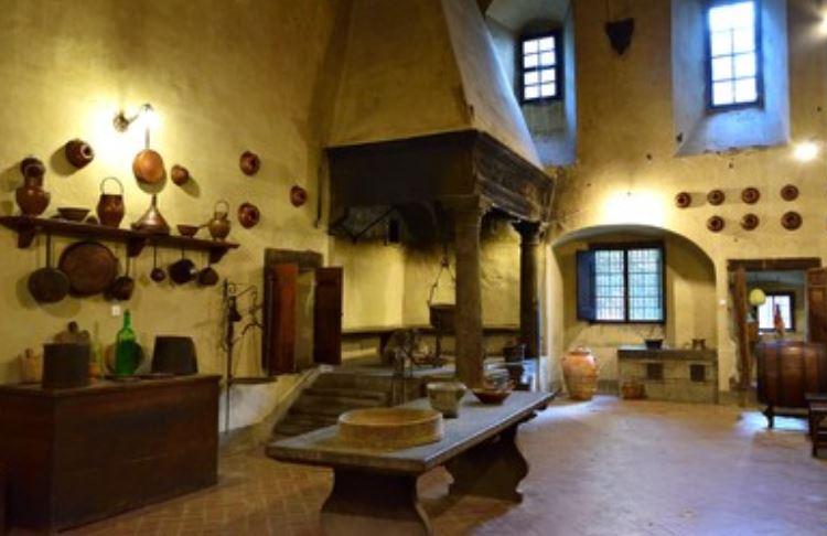 Cocina monasterio Passignano en Florencia