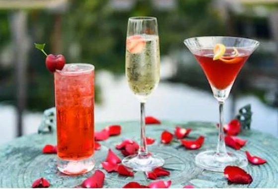 Cócteles fáciles para San Valentín
