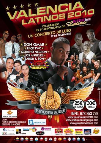 Aplazado un concierto de Don Omar en Valencia al saber que circulan 3.000 entradas falsas