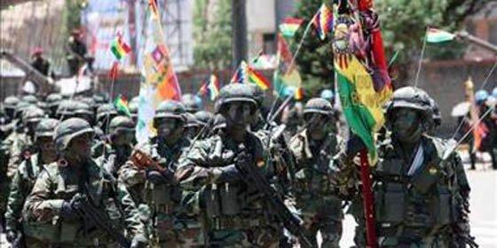 """Vídeo del Ejército boliviano: """"Los estamos esperando, chilenos"""""""