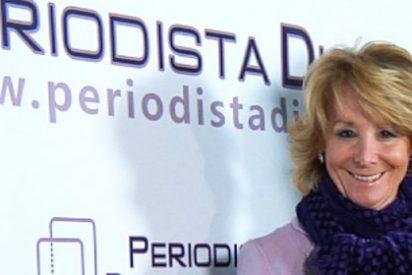 Esperanza Aguirre arrasará en Madrid... según 'El País'