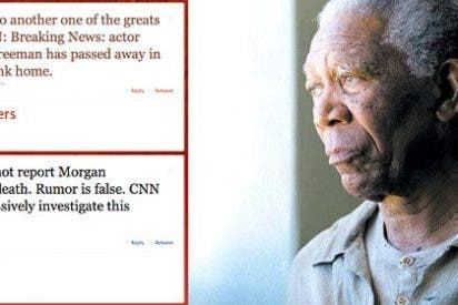 CNN mata y resucita a Morgan Freeman desde Twitter