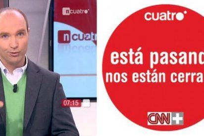 """Los trabajadores de CNN+ culpan a Juan Luis Cebrián del cierre: """"No ha sabido tomar las decisiones correctas"""""""