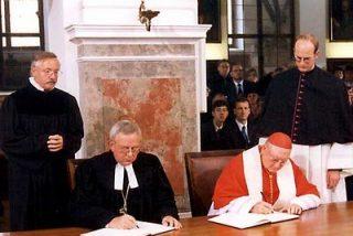 Luteranos y católicos, cada vez más cerca