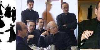 """Los """"traidores"""" al Papa en la Legión"""