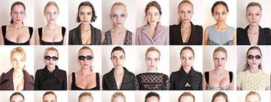 50 supermodelos sin maquillaje... y centenares de críticas