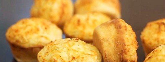 Muffins de queso receta fácil